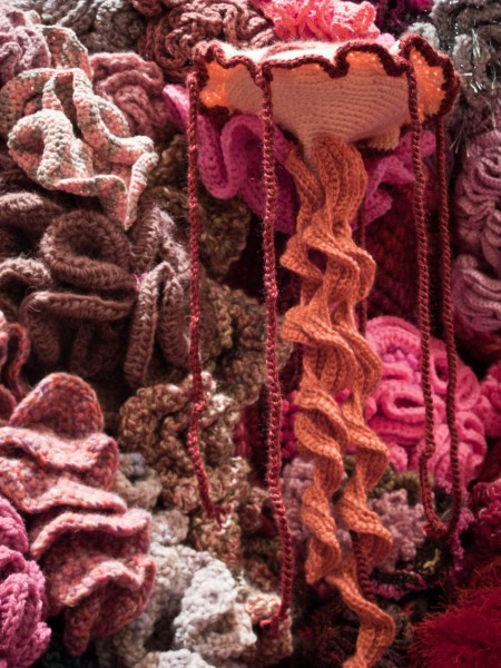 Crochet Coral Reef at the Smithsonian