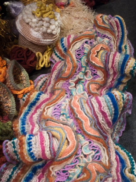 Crochet Coral Reef at Smithsonian