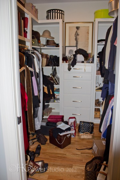 Makeover monday his hers walk in closet hkpowerstudio for His and hers walk in closet